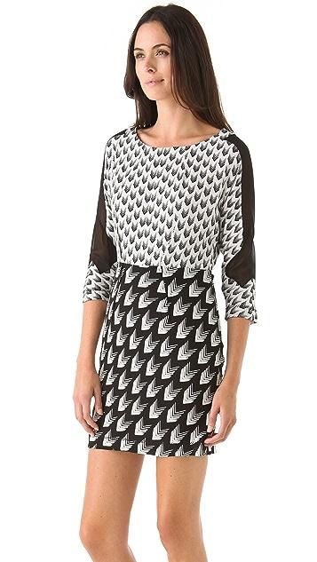 Rag & Bone Gayatri Arrow Print Dress