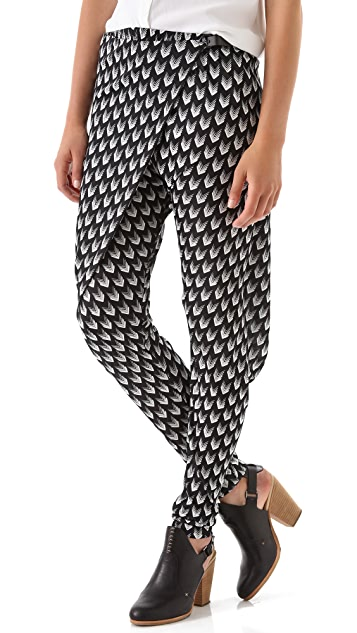Rag & Bone Rani Print Drop Waist Pants