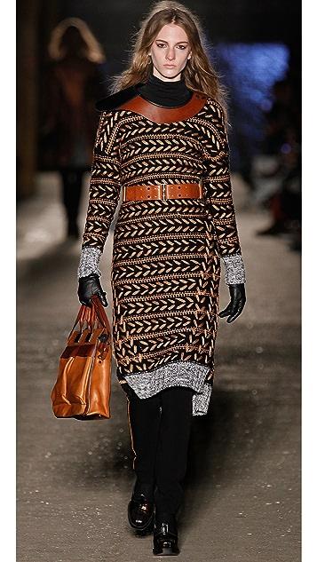 Rag & Bone Lisbeth Embroidered Sweater Dress