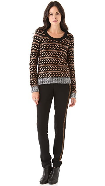 Rag & Bone Raj Copper Stitch Pants