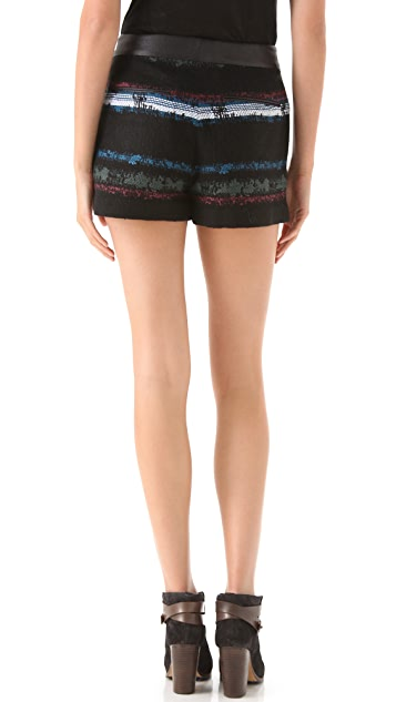 Rag & Bone Tatiana Stripe Shorts