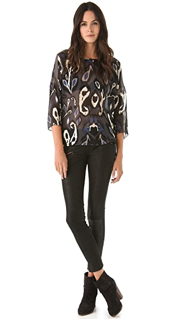 Rag & Bone Print Mithi Top