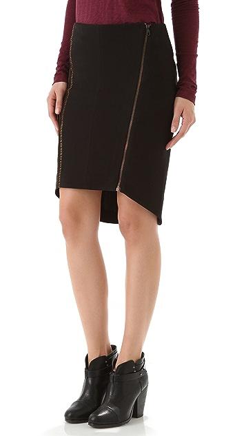 Rag & Bone Raj Embroidered Skirt