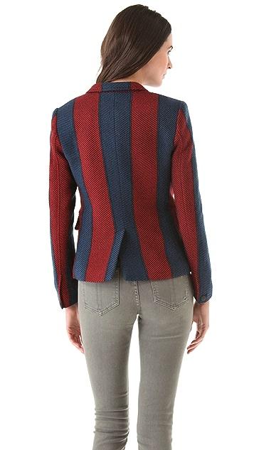 Rag & Bone Striped Bailey Jacket