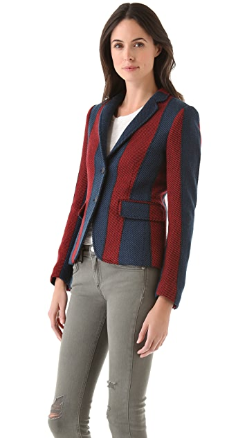 Rag & Bone Striped Bailey Jacket