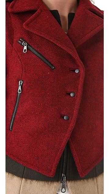 Rag & Bone Biker Tailcoat with Vest