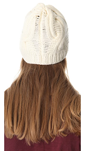 Rag & Bone Felted Cable Beanie