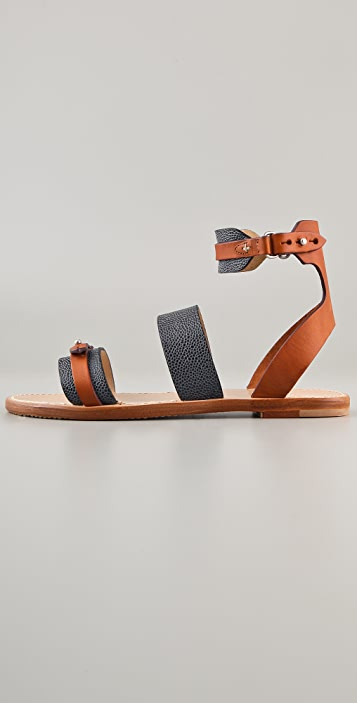 Rag & Bone Lara Flat Sandals