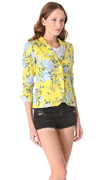 Rag & Bone Bailey Floral Print Jacket