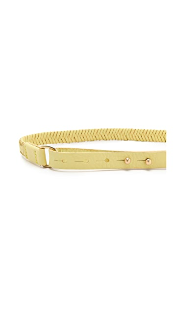 Rag & Bone Braided D Ring Belt