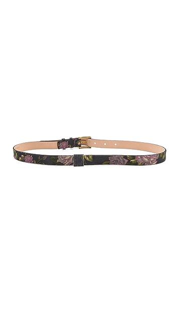 Rag & Bone Floral Skinny Belt