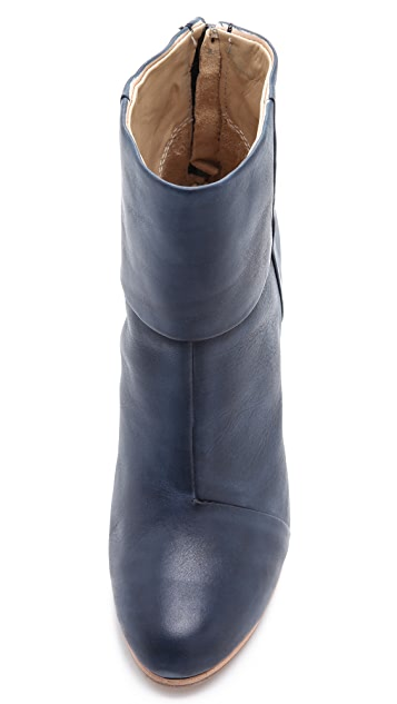 Rag & Bone Classic Newbury Booties in Painted Leather