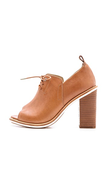 Rag & Bone Buckley Open Toe Booties