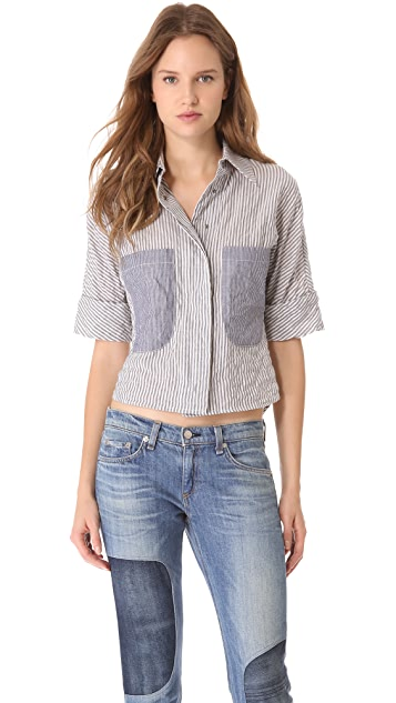 Rag & Bone Smoking Shirt