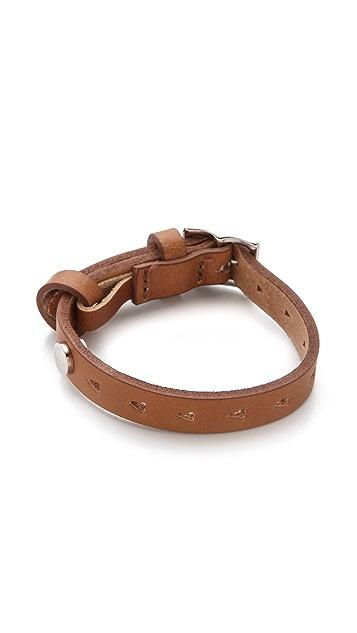 Rag & Bone Triangle Bracelet