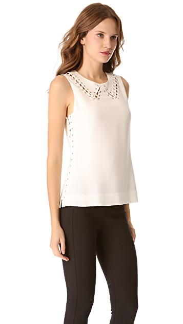 Rag & Bone Lillian Sleeveless Blouse