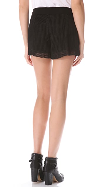 Rag & Bone Zoe Mesh Shorts
