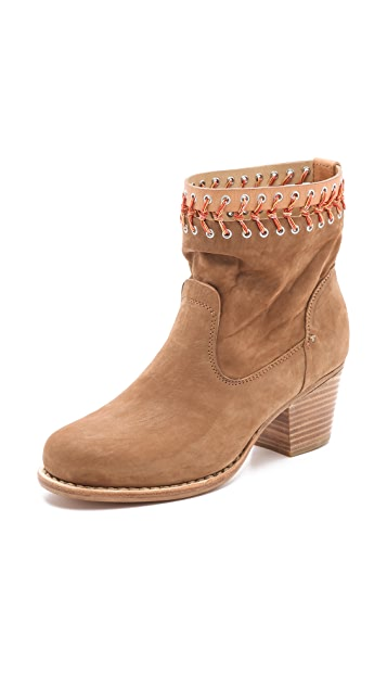 Rag & Bone Mercer Stitched Booties