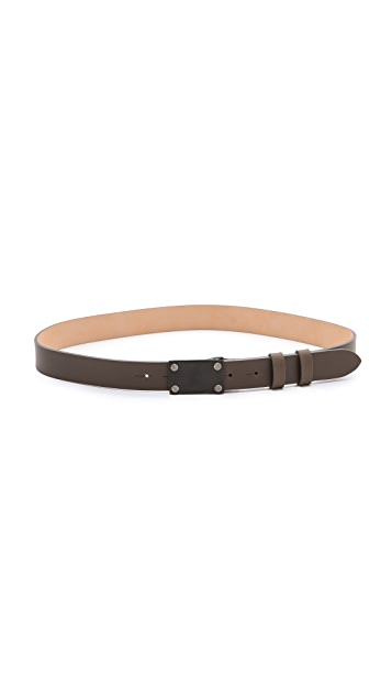 Rag & Bone Pilot Plate Belt