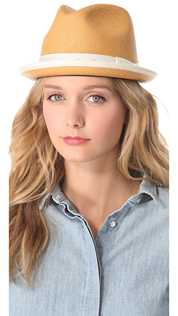 Rag & Bone Tan Fedora