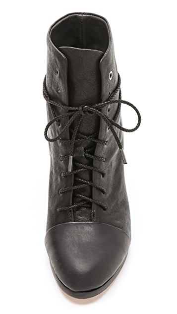 Rag & Bone Miles Lace Up Booties