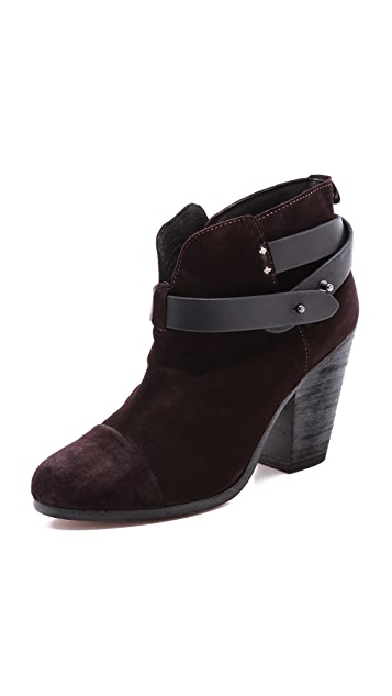 Rag & Bone Suede Harrow Booties