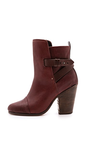Rag & Bone Kinsey Leather Booties