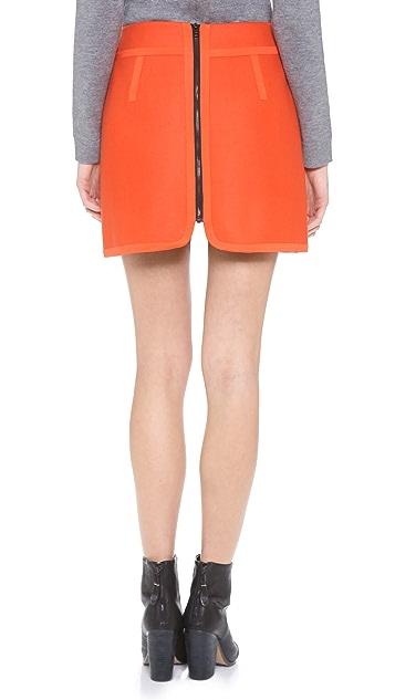 Rag & Bone Bomber Skirt