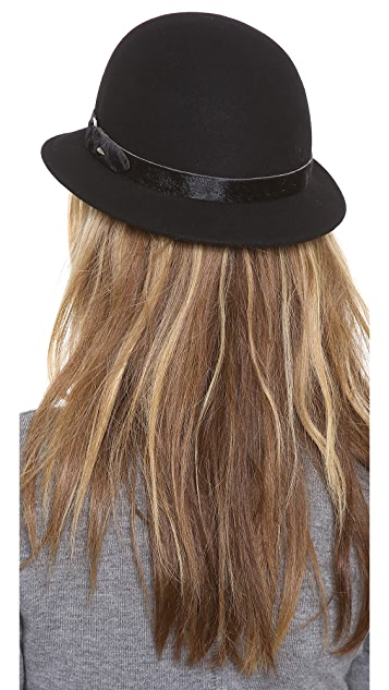 Rag & Bone Pearl Haircalf Hat