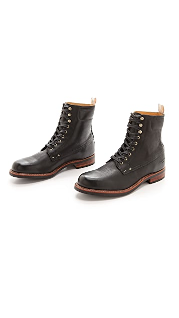 Rag & Bone Officer Lace Up Boots