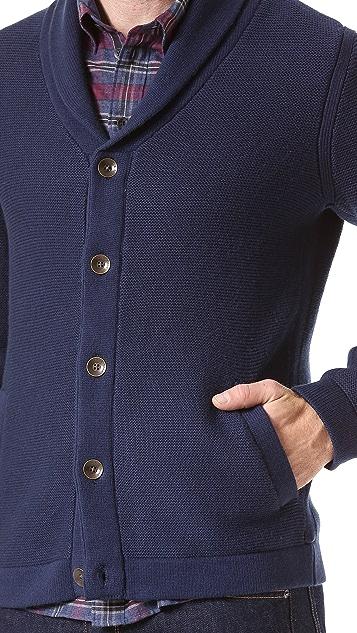Rag & Bone Donaghy Shawl Button Cardigan