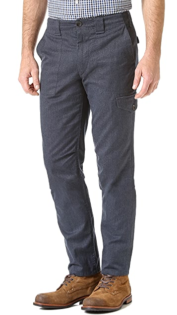 Rag & Bone Melange Fatigue Pants