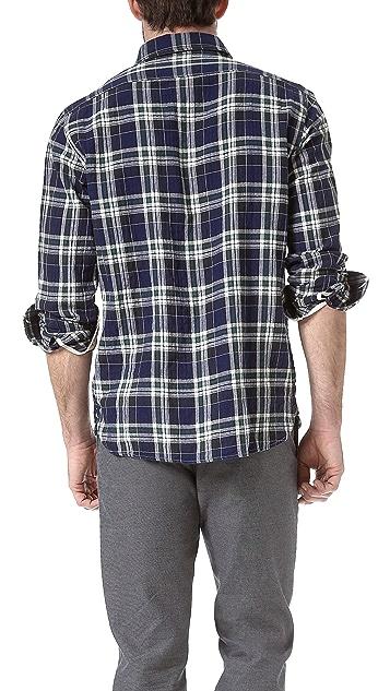 Rag & Bone 3/4 Placket Sport Shirt
