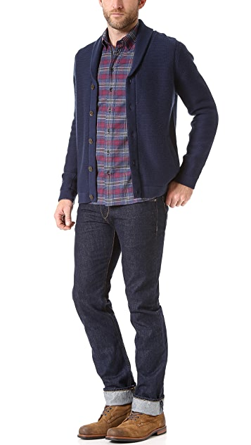 Rag & Bone Flannel Sport Shirt