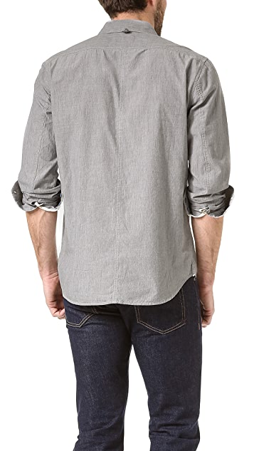 Rag & Bone Penn Melange Sport Shirt
