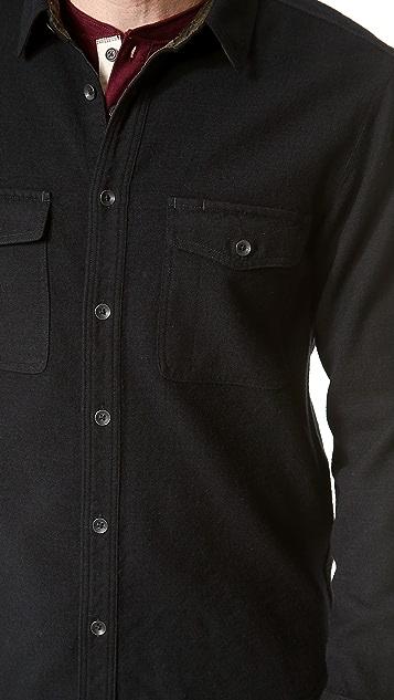 Rag & Bone Jack Wool Overshirt