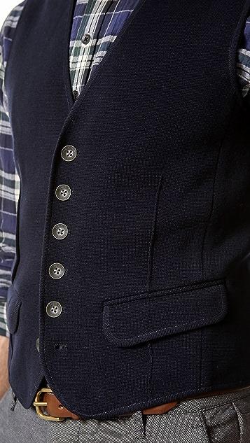 Rag & Bone Knit Grosvenor Waistcoat