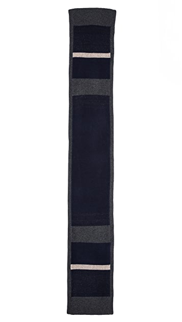 Rag & Bone Teddy Multi Stripe Knit Scarf