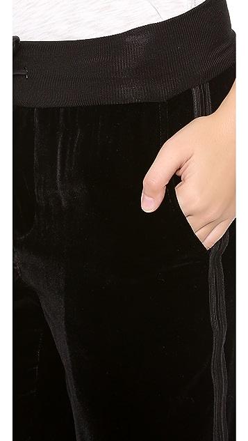 Rag & Bone Velvet Track Pants
