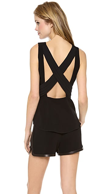 Rag & Bone Jem Cross Back Top