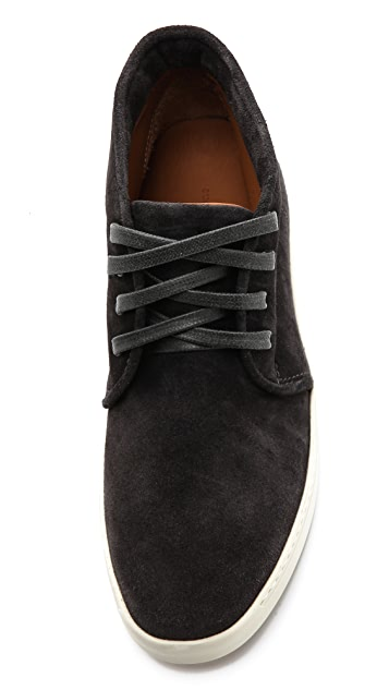 Rag & Bone Kent Velour Suede Sneakers