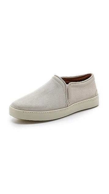 Rag & Bone Kent Suede Slip On Sneakers