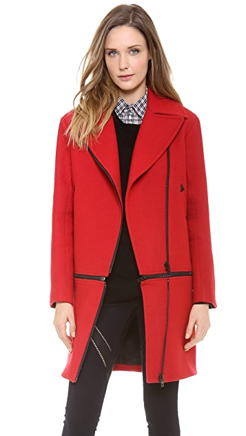 Rag & Bone Rally Zip Off Coat