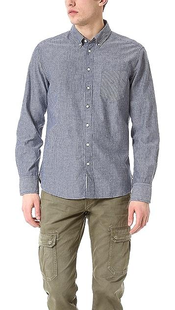 Rag & Bone Button Down Oxford Shirt