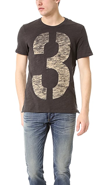 Rag & Bone Numbers T-Shirt