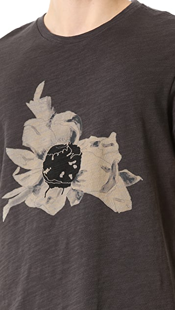 Rag & Bone Flower T-Shirt