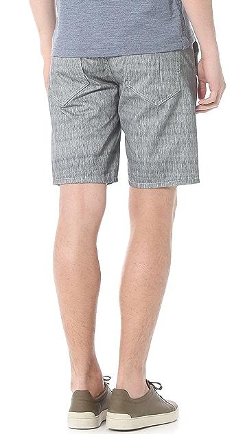 Rag & Bone Grainstripe Blade Shorts