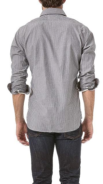 Rag & Bone 3/4 Placket Shirt