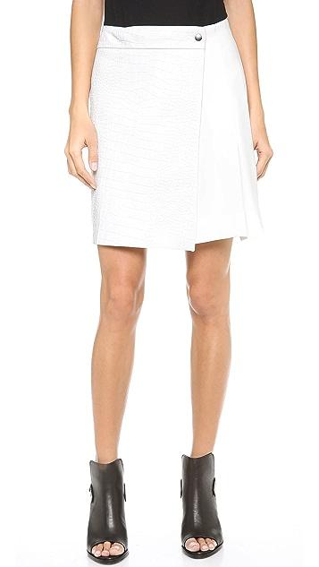 Rag & Bone Edburg Leather Skirt