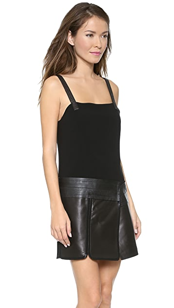 Rag & Bone Aimee Leather Dress